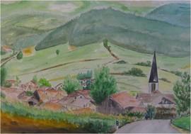 Zell in Bayern, 1985 (Eigentum des Bürgermeisters von Zell / Kirchberg)