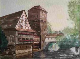 Pegnitz bei Nürnberg, 1993 (Eigentum meiner Schwester Elisabeth)
